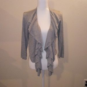 89th & Madison gray cardigan S